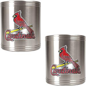 MLB Cardinals Stainless Steel Can Holders
