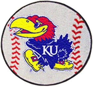Fan Mats University of Kansas Baseball Mat