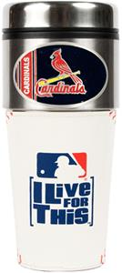 MLB St. Louis Cardinals Gameball Travel Tumbler