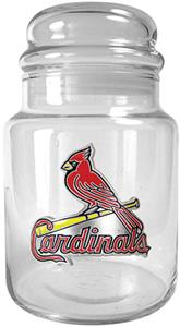 MLB St. Louis Cardinals Glass Candy Jar