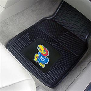 Fan Mats University of Kansas Vinyl Car Mat