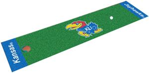 Fan Mats University of Kansas Putting Green Mat