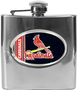 MLB St. Louis Cardinals 6oz Stainless Steel Flask