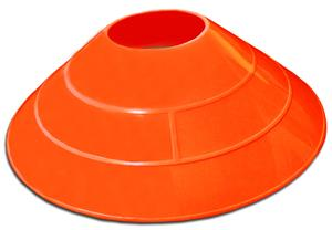 "Epic 2.25"" Tall Athletic Field Saucer Cones"