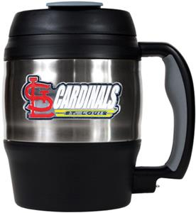 MLB Cardinals 52oz Stainless Macho Travel Mug
