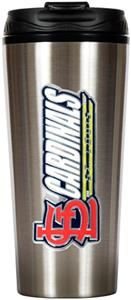 MLB Cardinals 16oz Stainless Travel Tumbler