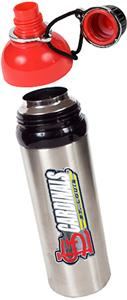 MLB Cardinals Stainless Water Bottle w/Red Top