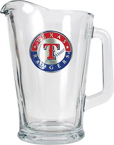 MLB Texas Rangers 1/2 Gallon Glass Pitcher