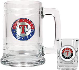 MLB Texas Rangers Boilermaker Gift Set