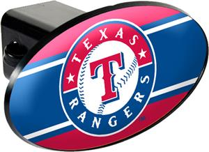 MLB Texas Rangers Trailer Hitch Cover