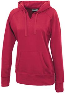 Pennant Ladies Hangout Fleece V-Cutout Hoodies