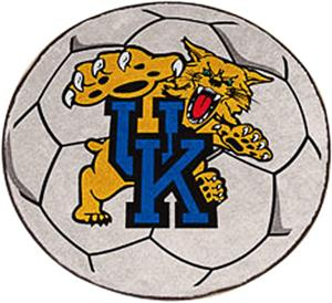 Fan Mats University of Kentucky Soccer Ball Mat