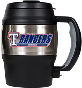 MLB Texas Rangers 20oz Stainless Steel Mini Jug