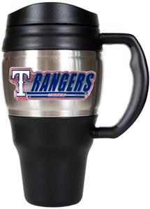 MLB Texas Rangers Stainless 20oz Travel Mug