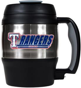 MLB Texas Rangers 52oz Stainless Macho Travel Mug