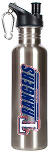 MLB Texas Rangers 26oz Stainless Water Bottle