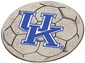 Fan Mats University of Kentucky UK Soccer Ball Mat