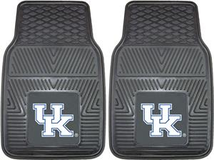 Fan Mats Univ of Kentucky Vinyl Car Mats (set)