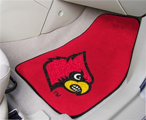 Fan Mats University of Louisville Carpet Car Mats