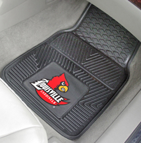 Fan Mats Univ of Louisville Vinyl Car Mats (set)