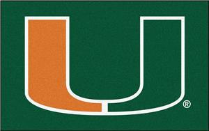 Fan Mats University of Miami Ulti-Mat