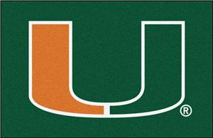 Fan Mats University of Miami Starter Mat