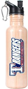 MLB Texas Rangers Baseball Bat Water Bottle