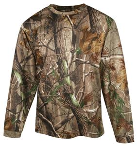 TRI MOUNTAIN Force Realtree AP Camo Crewneck Shirt