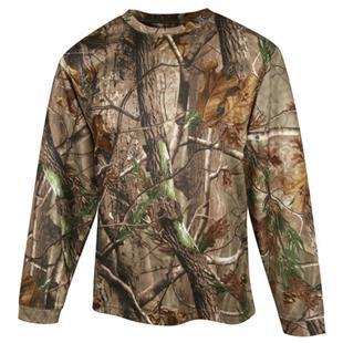 TRI MOUNTAIN Force Camo Crewneck Long Sleeve Shirt