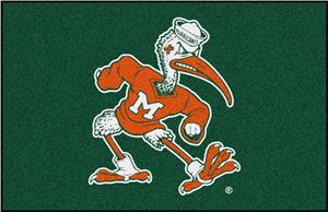 Fan Mats Miami Hurricanes Starter Mat