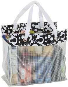 Picnic Plus Recycled Resin Mesh Reuze Tote