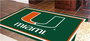 Fan Mats University of Miami 5x8 Rug