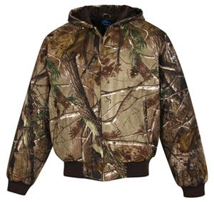 TRI MOUNTAIN Timberline Camo Hooded Work Jacket