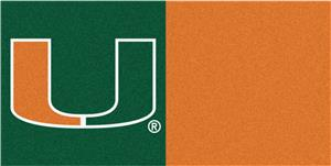 Fan Mats University of Miami Carpet Tiles