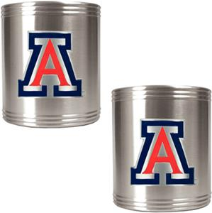 NCAA Arizona Wildcats Stainless Steel Can Holders