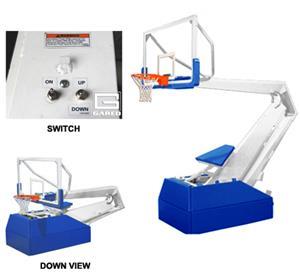 Gared Pro H 5018 Portable Basketball Backstops