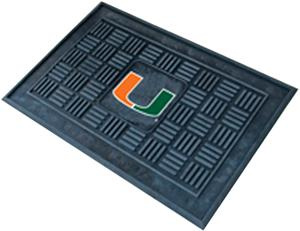 Fan Mats University of Miami Door Mat