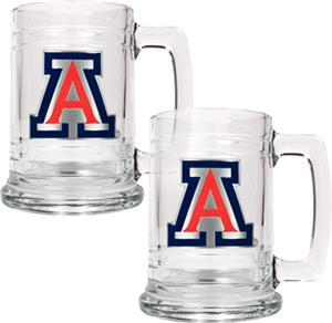 NCAA Arizona Wildcats 15oz Glass Tankard