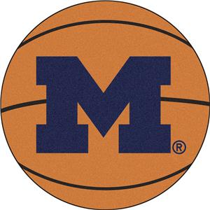 Fan Mats University of Michigan Basketball Mat