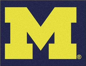 Fan Mats University of Michigan All-Star Mat