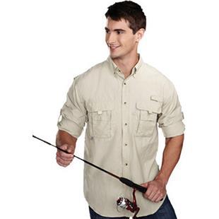 TRI MOUNTAIN Marlin Nylon Long Sleeve Shirt