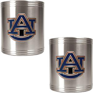 NCAA Auburn Tigers Stainless Steel Can Holders