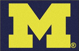 Fan Mats University of Michigan Starter Mat