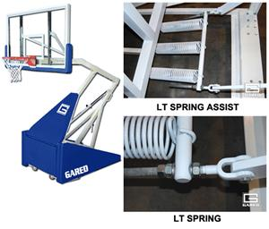 Gared Hoopmaster LT Portable Basketball Backstops