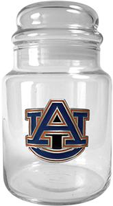 NCAA Auburn Tigers Glass Candy Jar