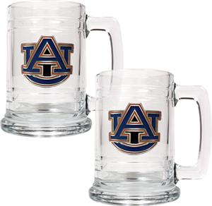 NCAA Auburn Tigers 15oz Glass Tankard