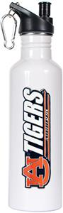 NCAA Auburn Tigers White Water Bottle
