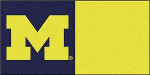 Fan Mats University of Michigan Team Carpet Tiles