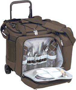 Picnic Plus Tango Trolley 2 Person Picnic Tote Set