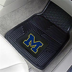 Fan Mats Univ of Michigan Vinyl Car Mats (set)